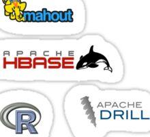 apache hadoop ecosystem sticker set Sticker