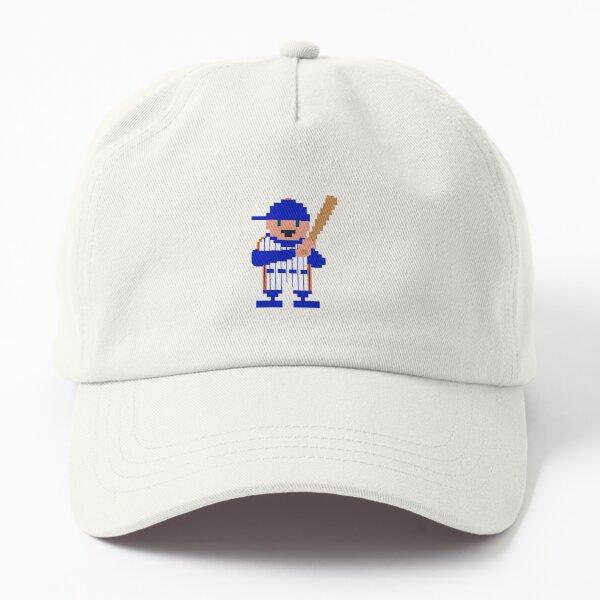 New York 1986 Pinstripe Baseball Player (light tone) Dad Hat