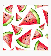 Watermelon Photographic Print