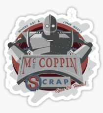 McCopin Scrap | The Iron Giant Sticker