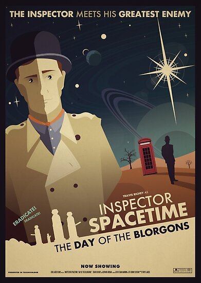 Inspector Spacetime: Day of the Blorgons by Jonny Eveson