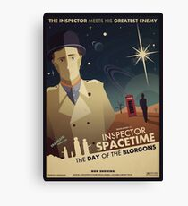 Inspector Spacetime: Day of the Blorgons Canvas Print