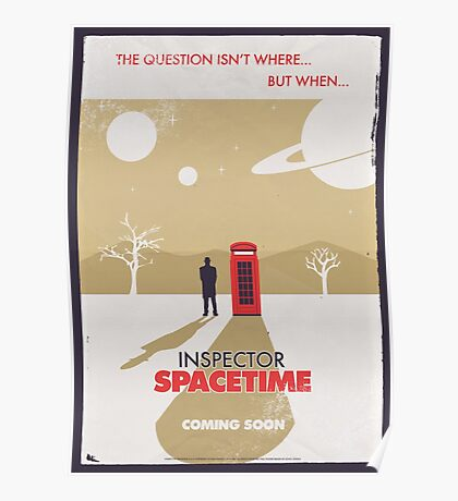 Inspector Spacetime Poster