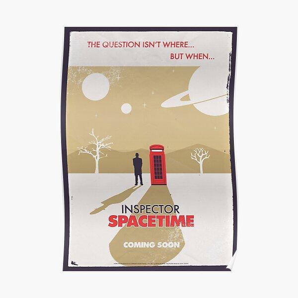 Inspector Spacetime Poster