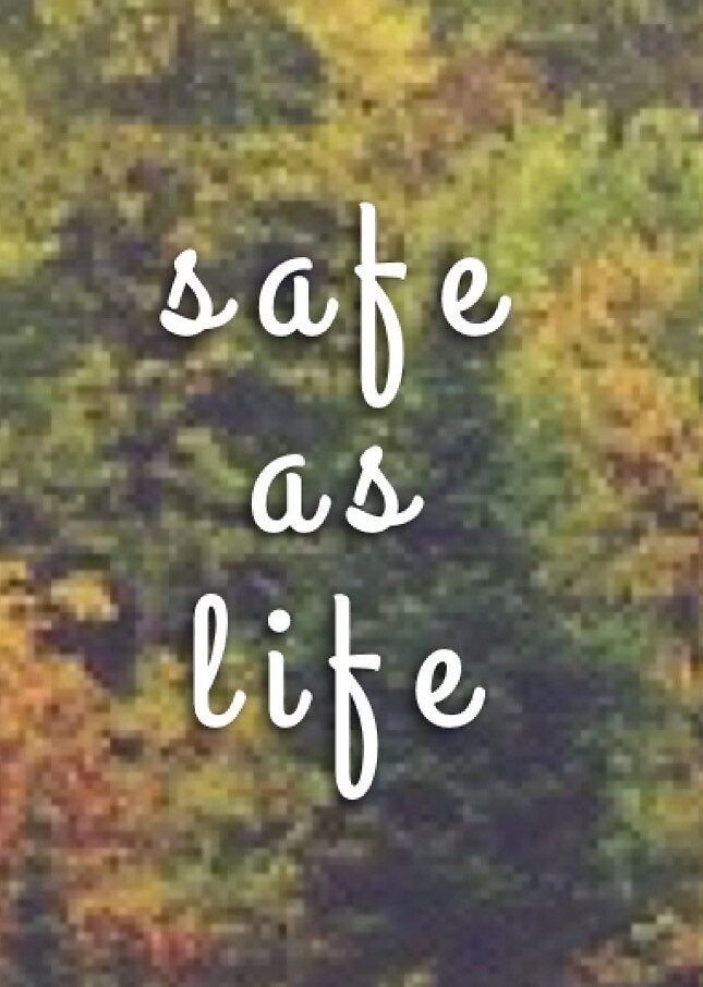safe as life by thebookygirl