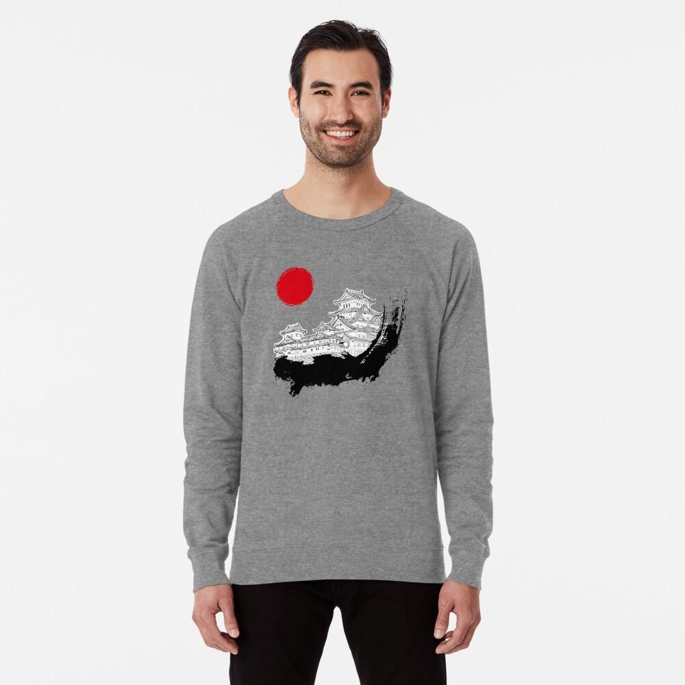 Japanischer Palast Leichter Pullover