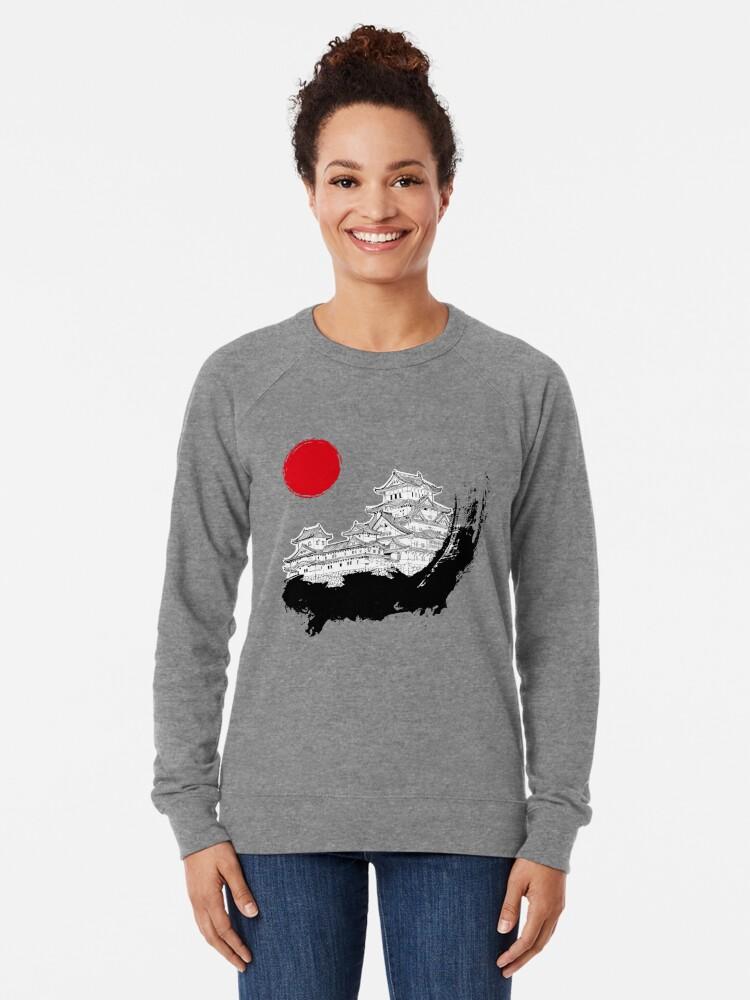 Alternative Ansicht von Japanischer Palast Leichter Pullover