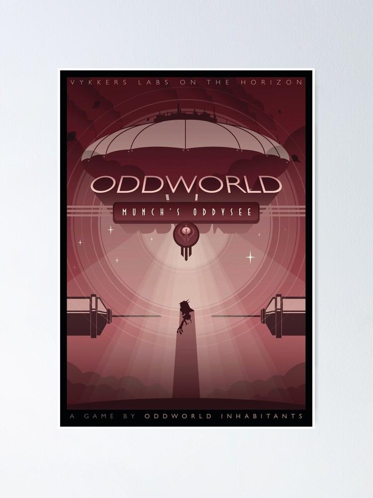 Alternate view of Oddworld: Munch's Oddysee Poster