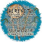 Serenity Prayer Bamboo by artmuvz