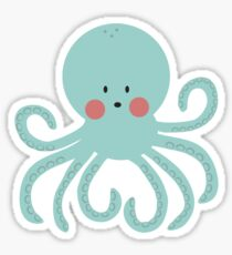 Squid Pattern Sticker