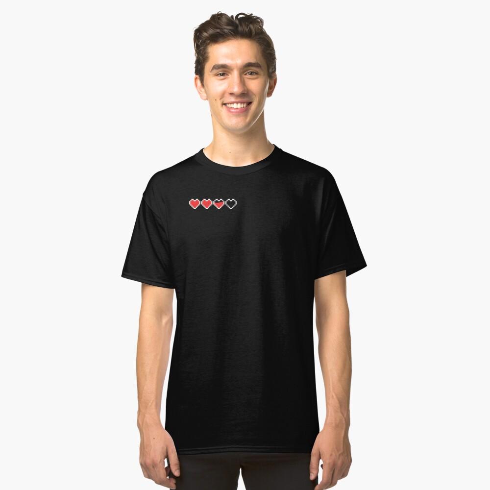 Pixel Hearts Classic T-Shirt Front