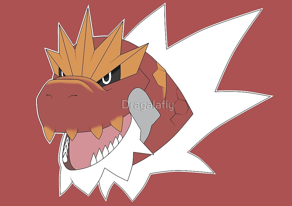 Tyrantrum (Normal) by Dragalafly