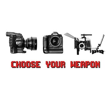 Choose Your Weapon - Canon 5D DSLR, Black Magic or Canon C300? by MattyTM
