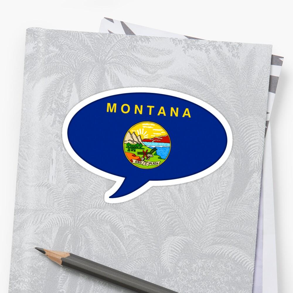 Montana State Flag Graphic USA Styling by Garaga