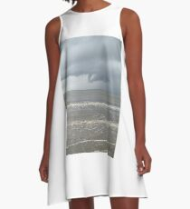 Storm moving in A-Line Dress