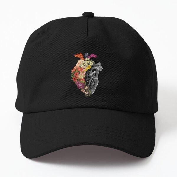 Flower Heart Spring Dad Hat