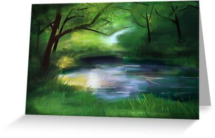 Forest Pond by Anna Penn