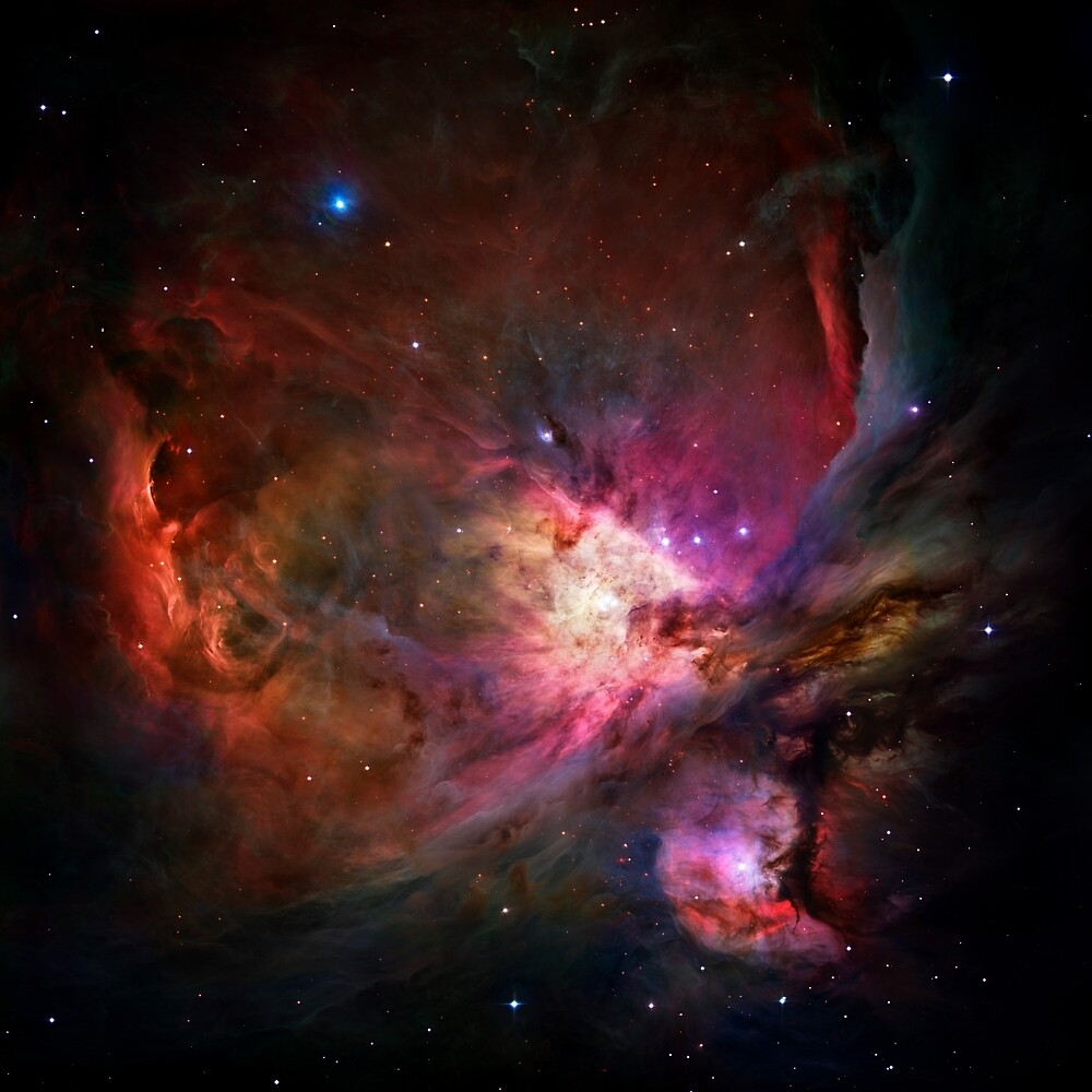 The Orion nebula by CosmicStyles