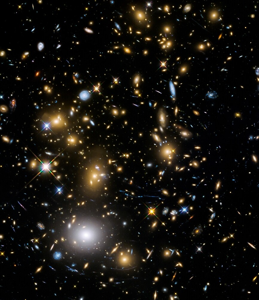 Galaxy Cluster by CosmicStyles