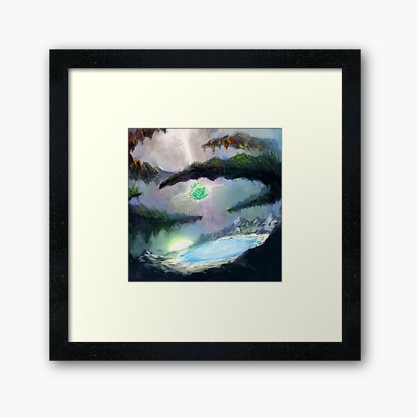 Granna, Seed of Creation Framed Art Print