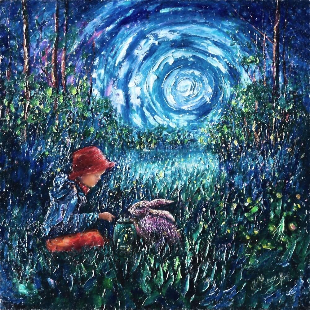"""Dylan's Rabbit"" by OLena Art - brand"