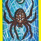 Arthropod Tarot - Card 2, The High Priestess by LeftHandedLenya