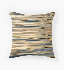 Water abstract. Throw Pillow