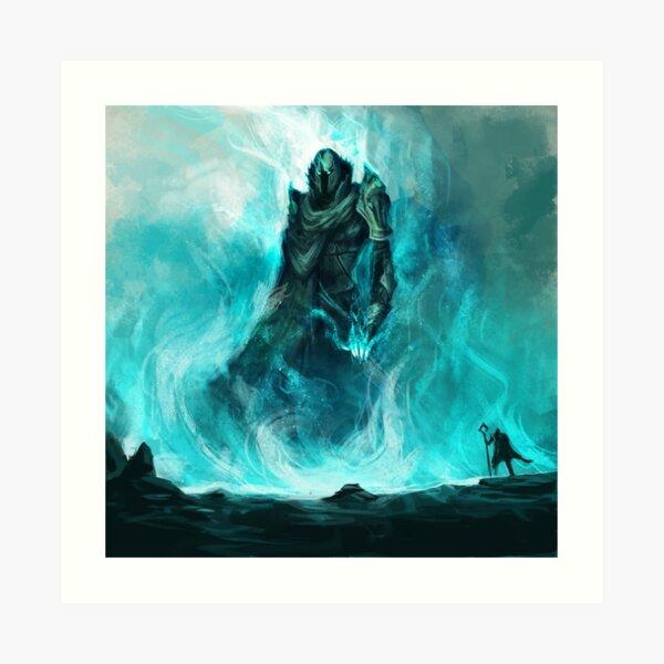 Soulfire Titan Art Print