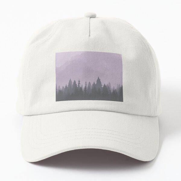Purple Woods Dad Hat