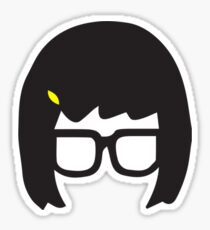 Top Seller - Tina Belcher: Silhouette Style  Sticker