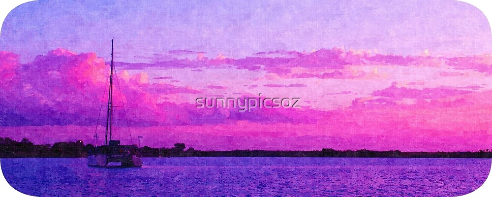 Crimson Sunrise. Printed Scenic Mugs. Photo Art. by sunnypicsoz