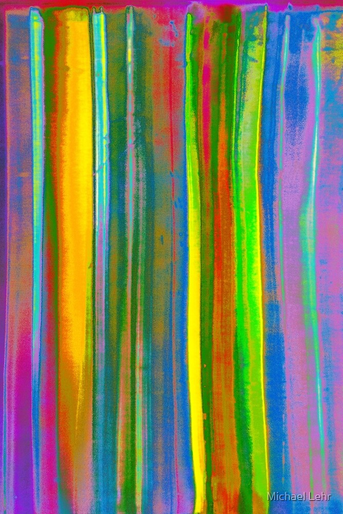 Stripes in a refrigerator by Michael Lehr