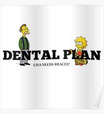 Lisa needs braces Poster