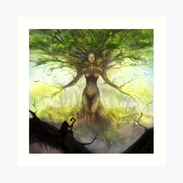 Vitalya, the Origin Tree Art Print