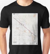 USGS TOPO Map Arizona AZ Marana 312228 1996 24000 Unisex T-Shirt