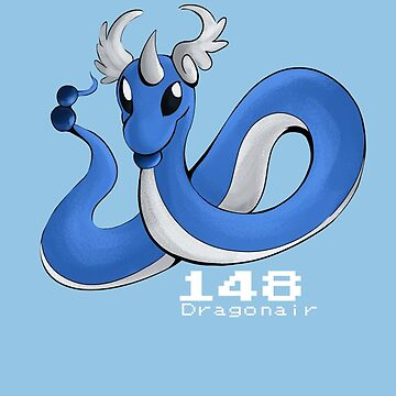 Pokemon #148: Dragonair by MichelleRakar