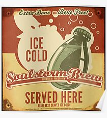 Ice Cold Soulstorm Brew Poster