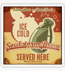 Ice Cold Soulstorm Brew Sticker