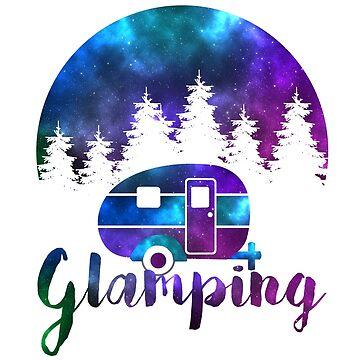 Glamping Galaxy Camper  by BellaAnya