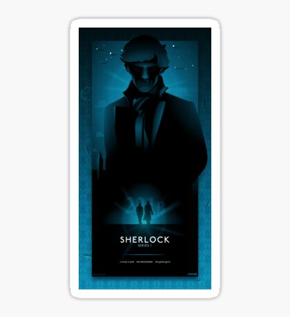 Sherlock Series 1 Sticker