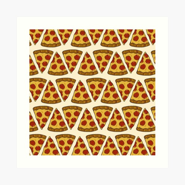 Pizza Power! Art Print