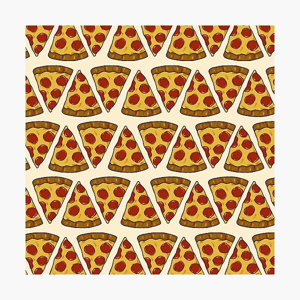 Pizza Power! Photographic Print