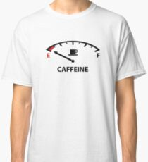 Running On Empty : Caffeine Classic T-Shirt