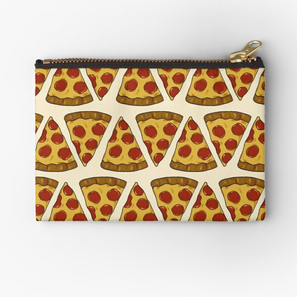 Pizza Power! Zipper Pouch