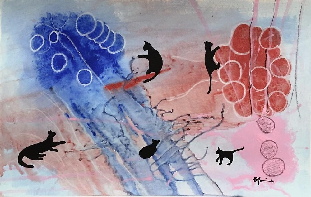 Your Brain On Cats by BrigitteMounier