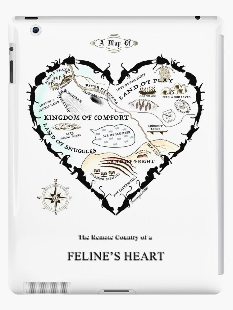 Map of a Feline's Heart by dreamingcat