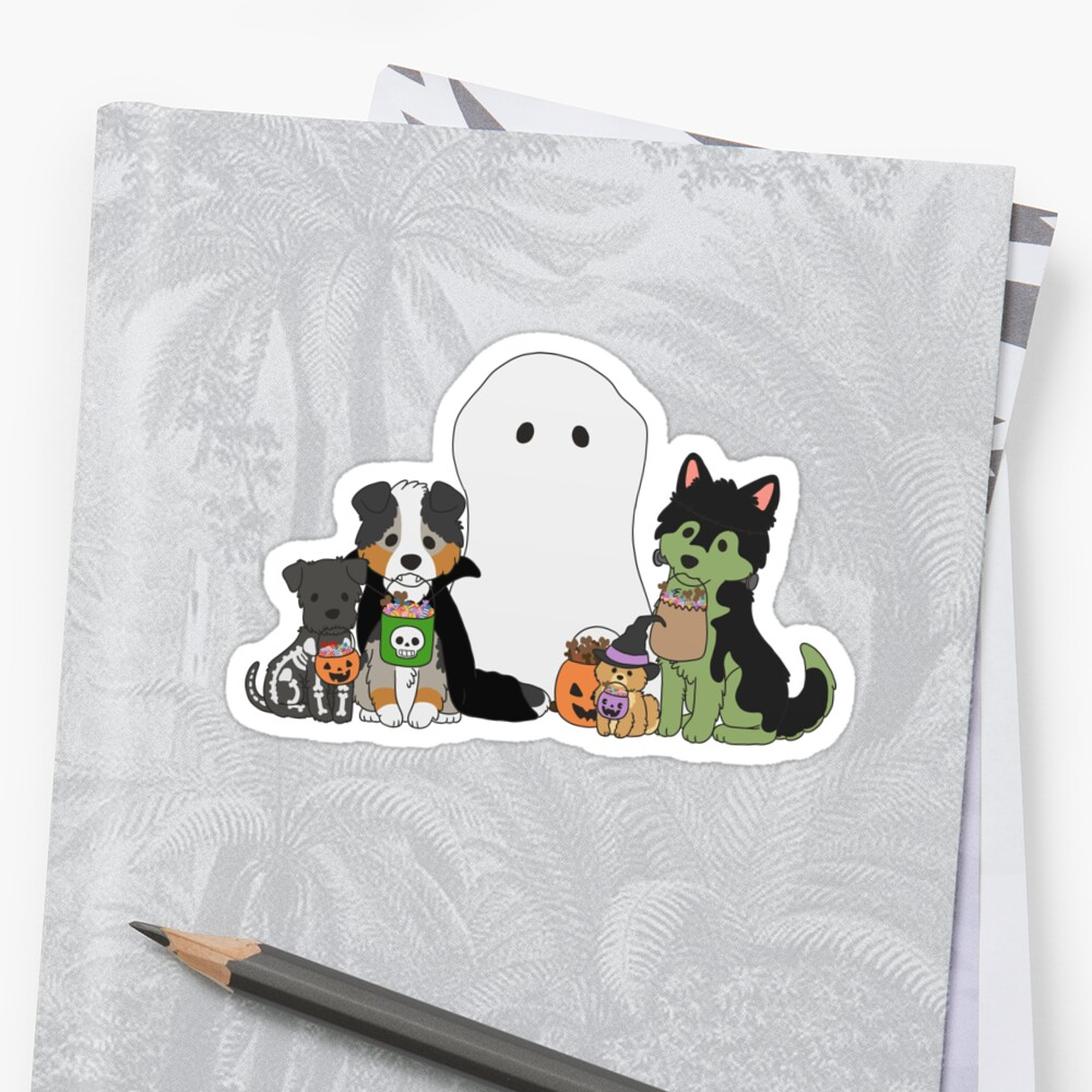 Halloween Puppers by ncdoggGraphics