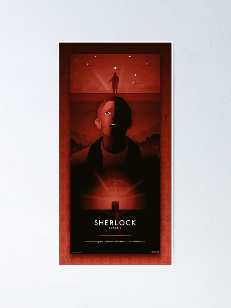Alternate view of Sherlock Series 2 Poster