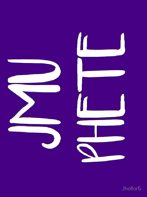 JMU PHETE Program Sticker by Jhollor6