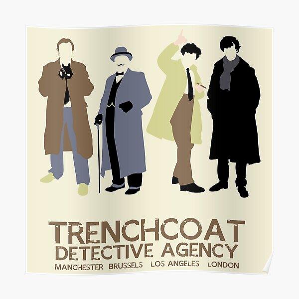 Trenchcoat Detective Agency Poster